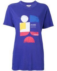 Étoile Isabel Marant - Camiseta Tewel - Lyst
