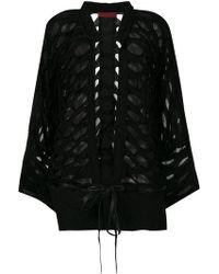 Di Liborio - Layered Oversized Jacket - Lyst
