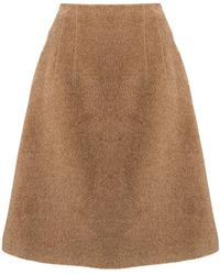 Jil Sander Navy - A-line Flared Skirt - Lyst