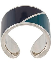 Lanvin - Colour-block Ring - Lyst