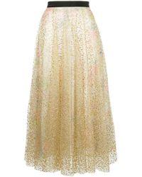 Manoush - Sheer Skirt - Lyst