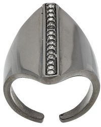 FEDERICA TOSI - Crystal Embellished Ring - Lyst