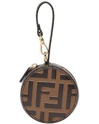 Fendi - Ff Logo Help Bag Charm - Lyst