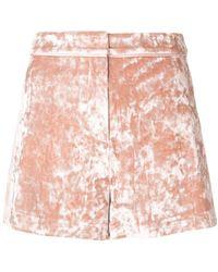 Alexis - Textured Shorts - Lyst