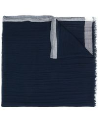 Lanvin - Long Frayed Scarf - Lyst