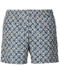 La Perla - Printed Swim Shorts - Lyst