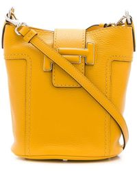 Tod's - Double T Bucket Bag - Lyst