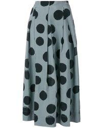 Uma Wang - Spotted Maxi Skirt - Lyst