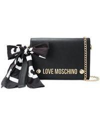 Love Moschino - Brand Logo Clutch - Lyst
