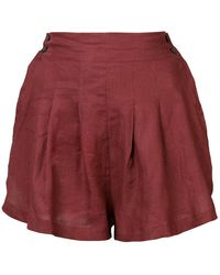 Three Graces London - Flared Shorts - Lyst