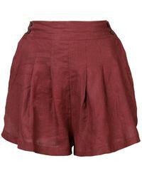 Three Graces London - Flared Shorts - Lyst