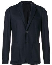 Paolo Pecora - Classic Fitted Blazer - Lyst