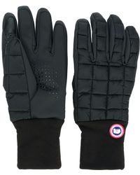 Canada Goose - Logo Padded Gloves - Lyst