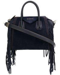 Givenchy - Fringes Small Antigona Bag - Lyst
