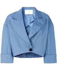 Societe Anonyme - Cropped Jacket - Lyst