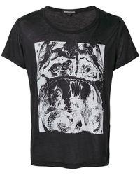 Ann Demeulemeester - Printed T-shirt - Lyst