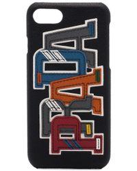 Prada - Logo Applique Iphone 7 Case - Lyst