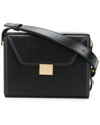 Victoria Beckham - Square Structured Shoulder Bag - Lyst