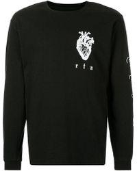 RTA - Longsleeved T-shirt - Lyst