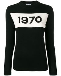Bella Freud - 1970 Crew Neck Jumper - Lyst