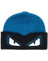 Fendi - Bag Bugs Beanie Hat - Lyst