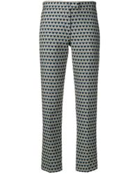 PS by Paul Smith - Heart-jacquard Trousers - Lyst