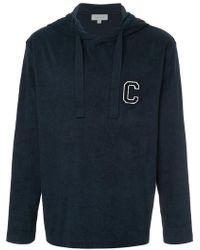 Calvin Klein - C Badge Hoodie - Lyst