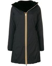 K-Way - Hooded Raincoat - Lyst