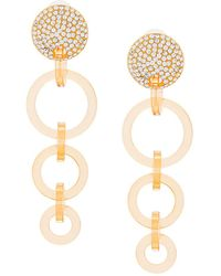 Lele Sadoughi | Wind Chime Hoop Earrings | Lyst