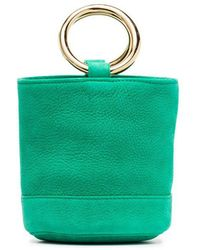 Simon Miller - Green Bonsai 15 Leather Mini Bag - Lyst