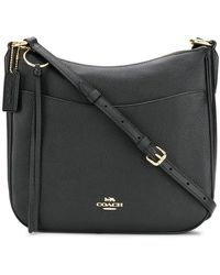 COACH - Pebbled Saddle Bag - Lyst