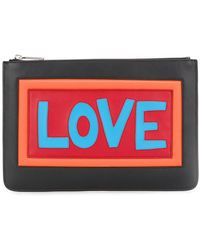 Fendi | Love Clutch | Lyst