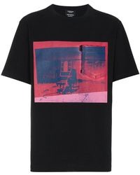 CALVIN KLEIN 205W39NYC - X Andy Warhol Foundation Little Electric Chair T-shirt - Lyst