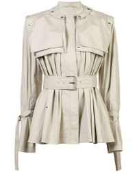 Proenza Schouler - Belted Trench Jacket - Lyst