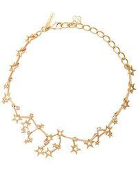 Oscar de la Renta - Crystal Constellation Necklace - Lyst