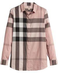 Burberry - House Check Shirt - Lyst
