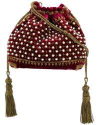 Etro - Sac porté épaule orné de perles - Lyst
