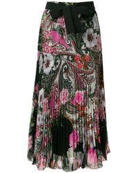 Blugirl Blumarine - Paisley Print Skirt - Lyst