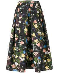 Erdem - Floral Print Skirt - Lyst