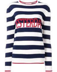 42775aa2ab Alberta Ferretti - Yesterday Striped Sweater - Lyst