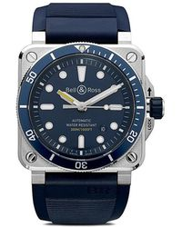 Bell & Ross - Orologio BR 03-92 Diver Blue 42mm - Lyst