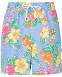 Polo Ralph Lauren - Floral Print Swim Shorts - Lyst