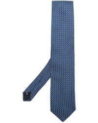 Fashion Clinic - Geometric Pattern Tie - Lyst