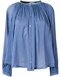 Forte Forte - Flared Button Blouse - Lyst