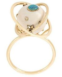 Bibi Van Der Velden - Diamond Ring - Lyst