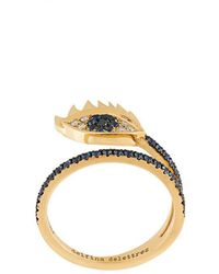 Delfina Delettrez - Embellished Eye Ring - Lyst