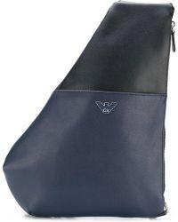 Emporio Armani - Single Strap Backpack - Lyst