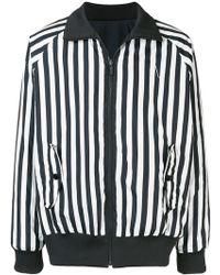 8e269c88c Lyst - Y-3 Black 3-stripe Track Jacket in Black for Men