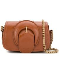 Elisabetta Franchi - Maxi Buckle Mini Bag - Lyst