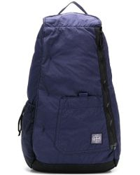 Stone Island - Zipped Logo Backpack - Lyst